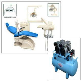 Dental Chair with Compressor